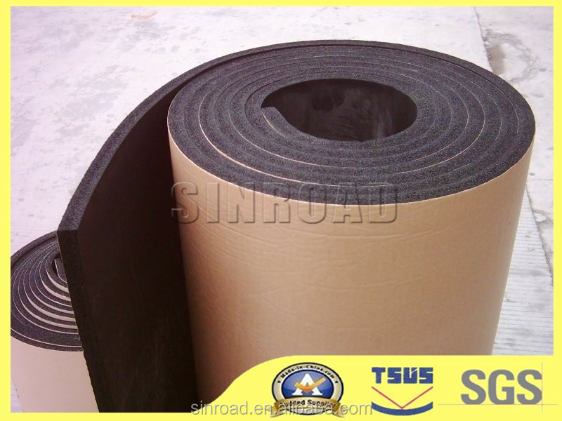 Self Adhesive Backed Rubber Foam Sheet Roll