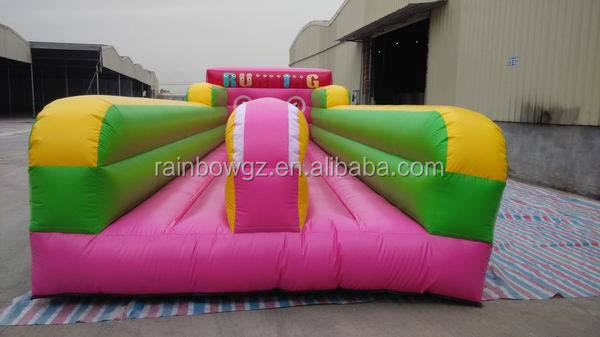 Fashional inflatable runway, Inflatable Bungee Run for sale