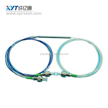 High quality 2x2 850nm Fiber Optic FBT Coupler With Connector FBT
