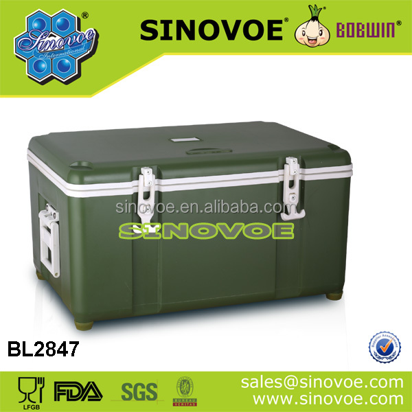 Large 28L Cooler Box Camping Beach Picnic Ice Food Insulated Travel Cool Box
