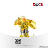 Bow plastic bottle cap with customized color _207310