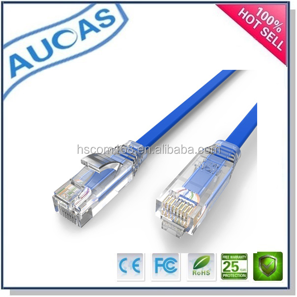 cat5e copper utp shielded network ethernet lan patch cable/cat6 rj45 gold plated 24AWG patch cord