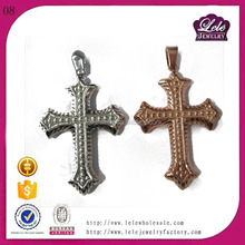 New products on china market stainless steel pendant jewellery necklaces stainless steel jesus cross pendant