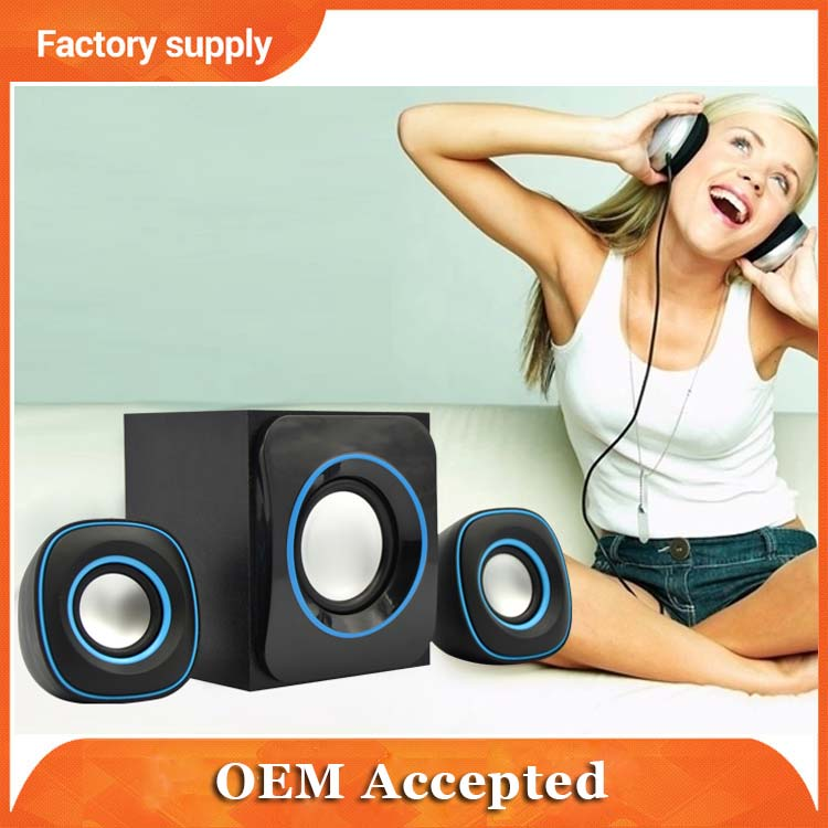 5W professional subwoofer home theater multimedia speaker hifi system