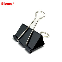 High quality nickel black metal binder clip or metal fold clip for paper