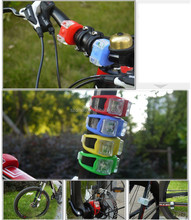 DIHAO 2 Mini Cycling Bike Silicone Light LED Front/Rear Security Warning Lamp