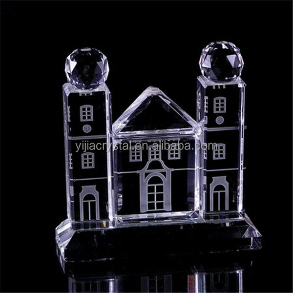 various K9 crystal model of kaaba for Wedding birday gifts