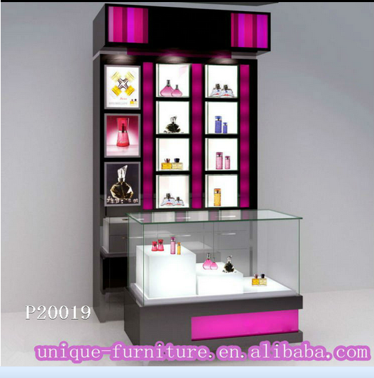 Excellent value for money sales cosmetic counter cosmetic cabinet display