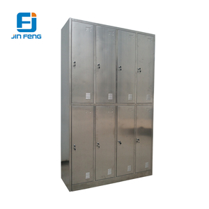 8 Door Stainless Steel Closet Locker