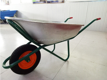 The China used power wheelbarrow for sale WB6418 with 400- 8 wheelbarrow tyre