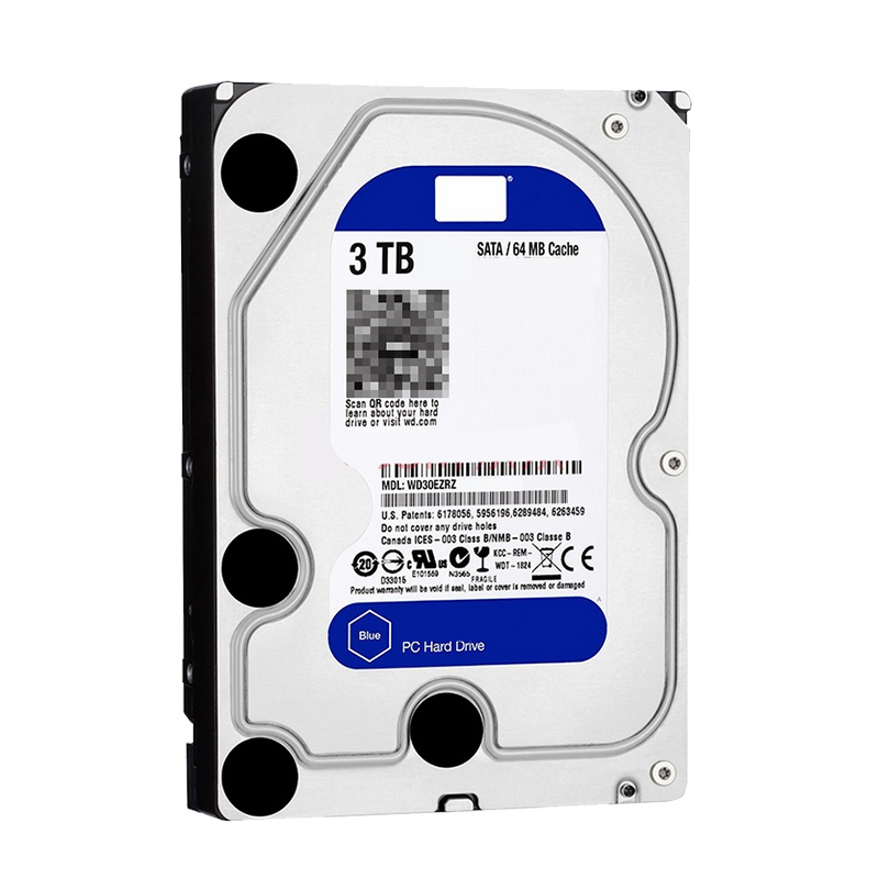 Refurbished 3.5'' 3000GB 3TB HDD for Desktop