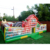 Outdoor Toddlers farm theme animals inflatable jump combo bouncer