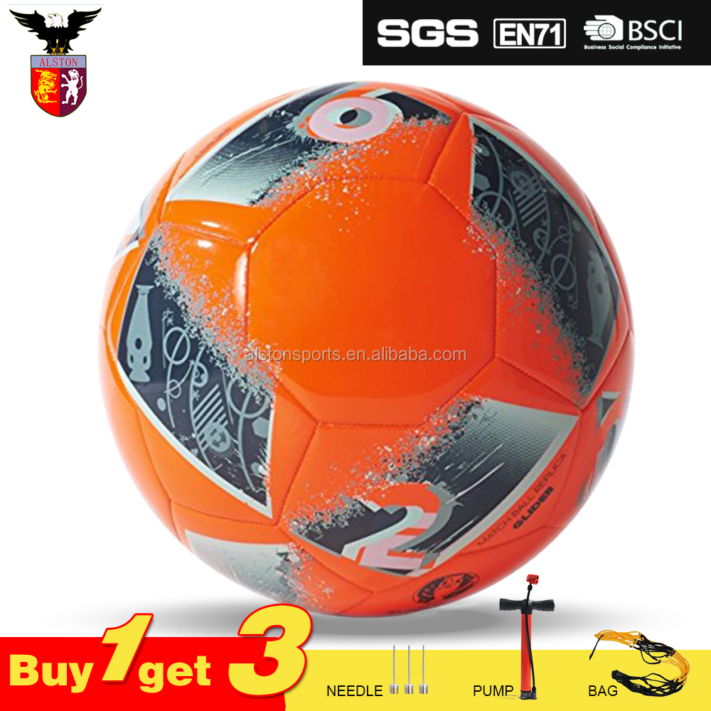 butyl bladder cheap soccer ball in bulk