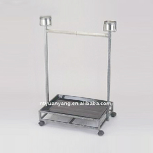 parrot cage stand metal stand