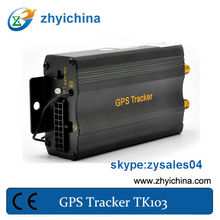2013 newest china gps tracker 103 with door/ACC/accident alarm GPS Tracker TK103