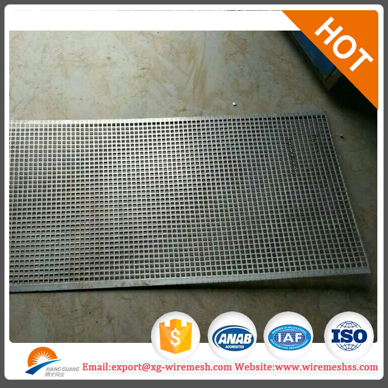 tiny aluminum perforated steel mesh