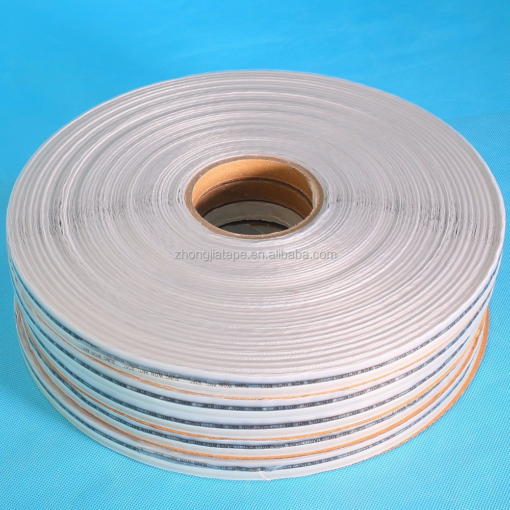 anti static top quality HDPE bag sealing tape with cheap price