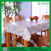 Eco-friendly home accessories laminated silicone table cloth in cheap price