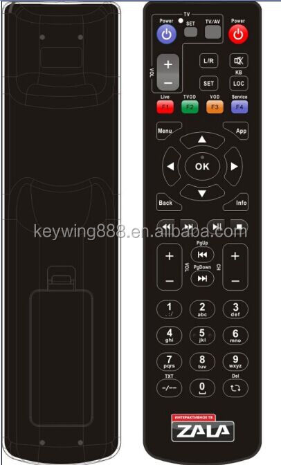 learning code IR remote control controller for Beltel ZALA TV