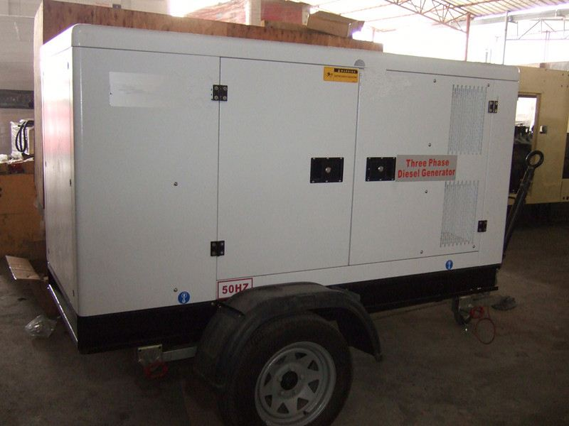 Global Service 150KVA Engine open type used tow truck