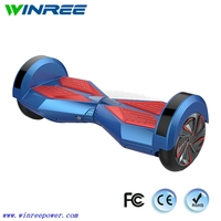 High quality smart two wheel self balancing scooter 8 inch lamborghini hoverboard