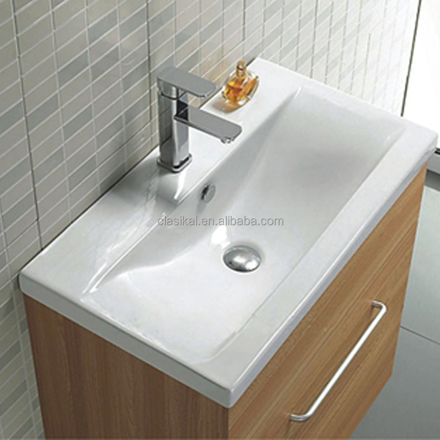 fashion design high quality antique cabinet wash hand basin