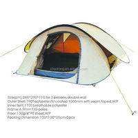 waterproof outdoor camping tent automatic pop up tent