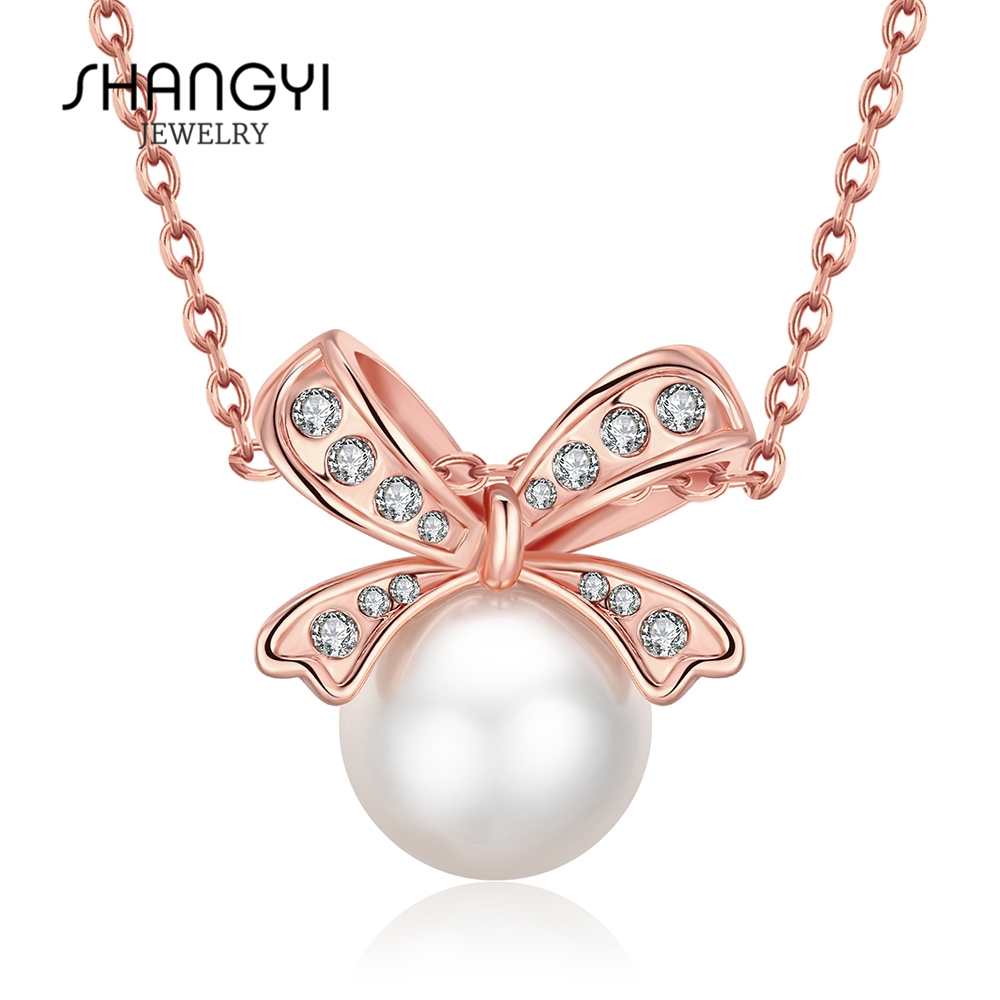 Guangdong Wholesale single pearl pendant necklace