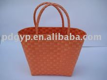 2012 New style Plastic basket bag