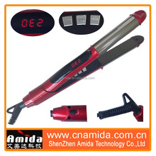 Brand names of hair straighteners titanium with hair protection system