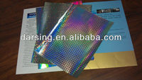 Holographic Metallized paper for packing