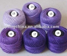 knitting cotton thread