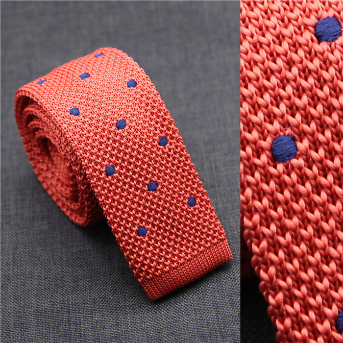Factory wholesale <strong>poly</strong> dots tie china alibaba knitted cheap necktie neck tie