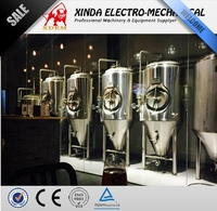 XDEM Beer Machine 2000L stianless steel beer conical fermentation tank of beer brewing equipment