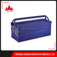 2015 Customized Metal Garage Tool box/ 5-layer suitcase tool box/ 2014-109pcs metal case tools set tools for car repair