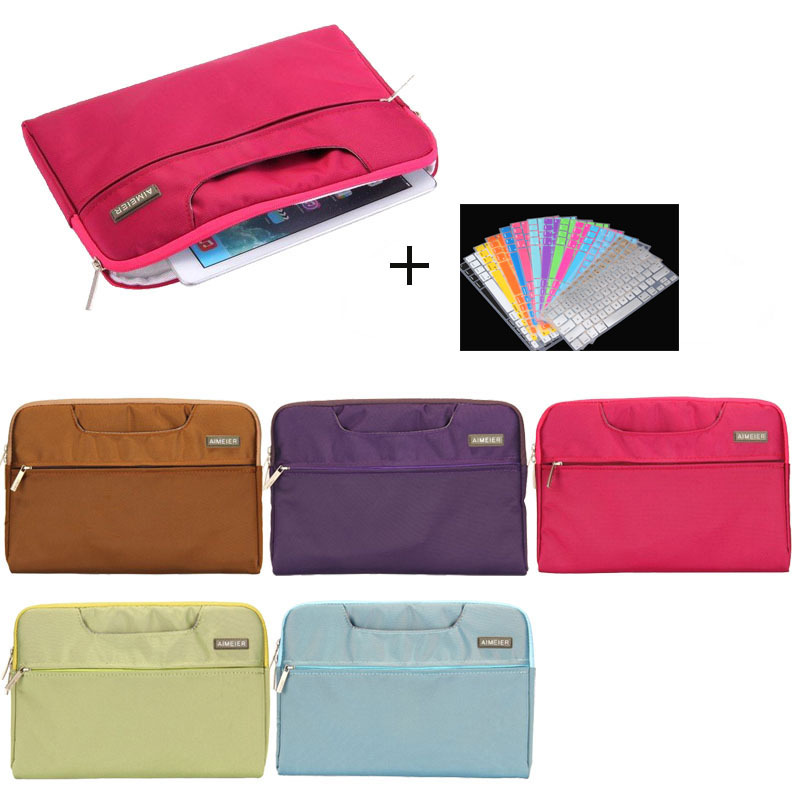 "Notebook Laptop Sleeve Bag Pouch for Macbook Pro, Handbag Keyboard Protector Guard for Macbook Pro 13"" 15"" Case Cover"