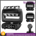 Disco Bar 360 Roller Light 79 Channels Sound Activated Control 4X25W Super Beam 4In1 Led Rgbw Moving Head