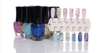 2014 Nail Art Soak-Off Glitter led/uv soak off nail gel polish