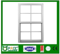 america standard single hung window image with grill design