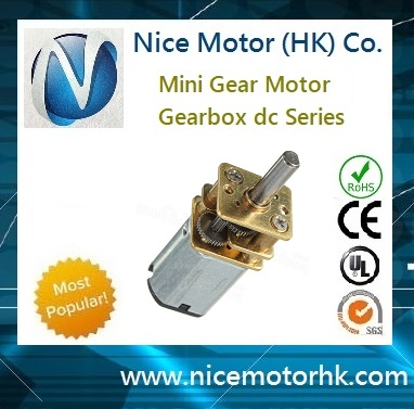high quality mini geared motor for wheel door locks