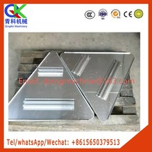 galvanized steel plate beading machine with 10mm thickness