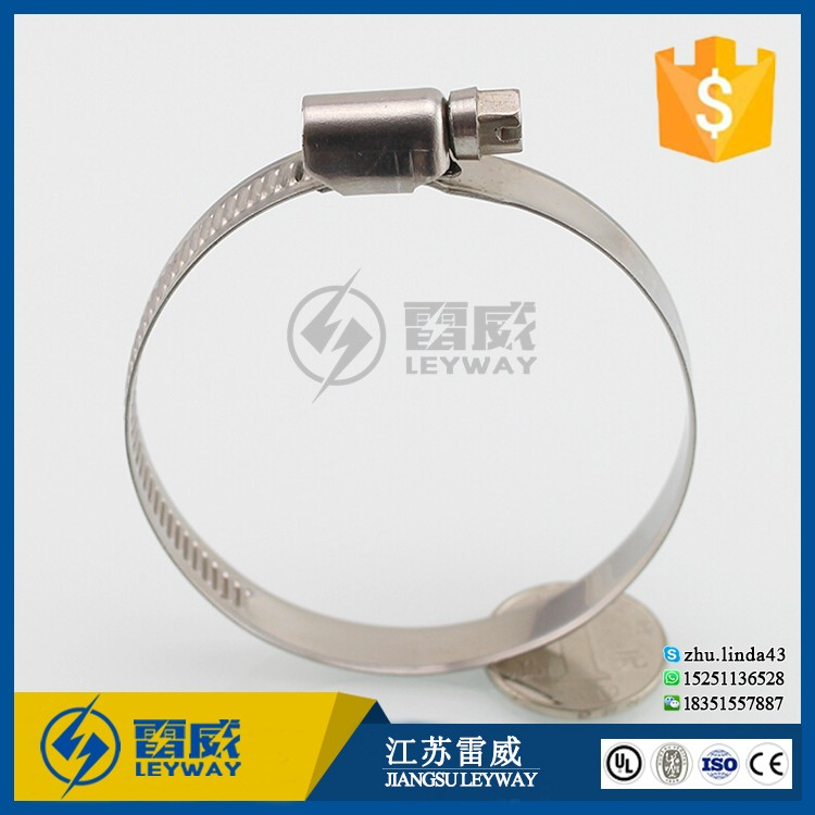 Power Tools 7mm Hex-head Standard Stainless Steel Hose Clamp Ring