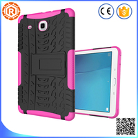 rubber bumper tablet case for samsung galaxy tab e t560