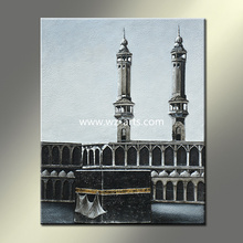 Turkish Style 3D Relief Religion Building Oil Painting