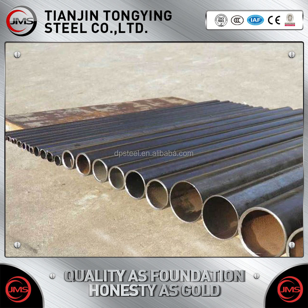 alibaba express china hollow tube/metal/ERW Q345 Q235B ERW black round steel welded pipe