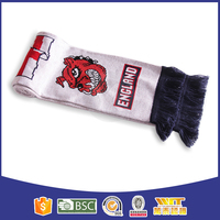 Customized pretty football team scarf