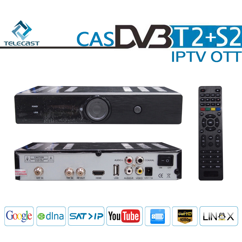 All-in-one HD Receiver DVB-S2&DVB-T2 & IPTV&OTT