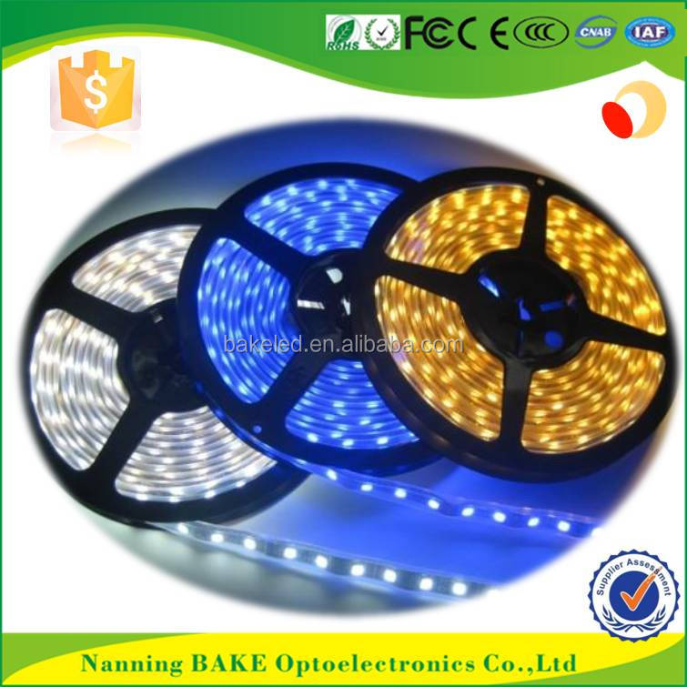 CE Rohs certificate 12v 60led flexible waterproof smd 3014 led strip light