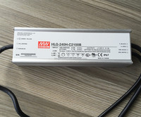 HLG-240H-C2100B, 2100mA power supply, Original Mean Well 250W LED driver