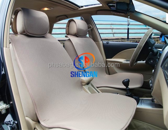 2015 new product fashion design plate 3D mesh car seat cover auto interior accessories